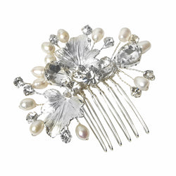 Charlotte Freshwater pearl comb