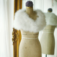 Vintage Marabou Feather Shrug