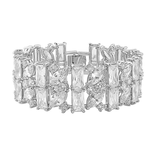 Mayfair Crystal Cuff