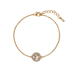 Miss Miranda Bracelet - Light Silk