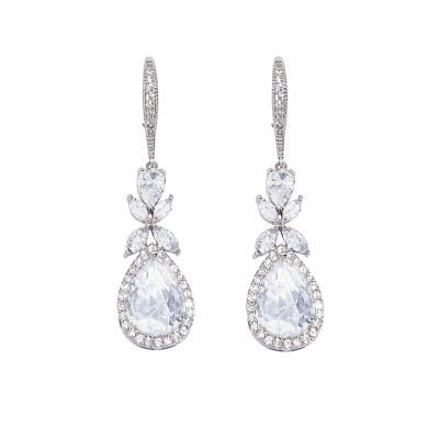 Olivia Crystal Earrings