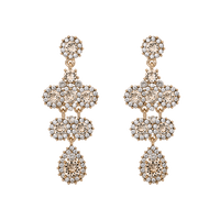 Miss Kate Earrings - Champagne