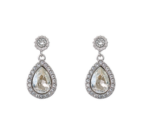 Miss Amy Earrings - Silver Shade