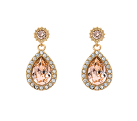 Miss Amy Earrings - Silk (gold)
