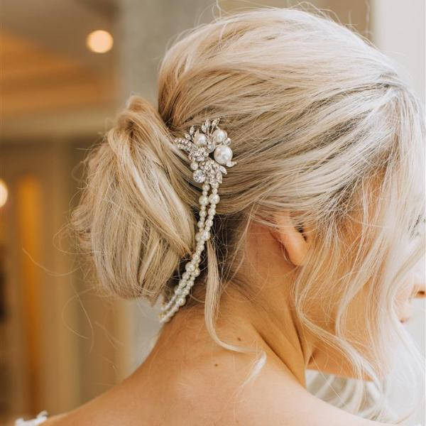 Enchanted Pearl Headpiece