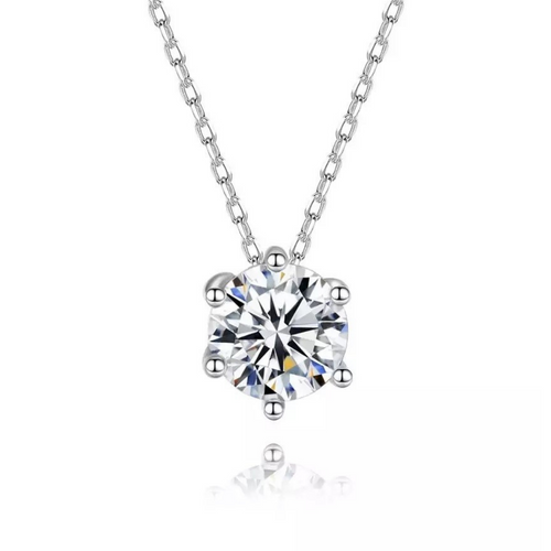Stella Solitaire Necklace
