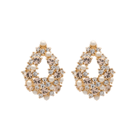 Alice Earrings - Ivory Silk
