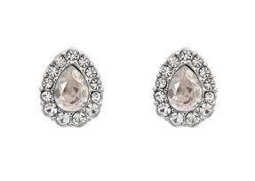 Amelie Earrings - Crystal