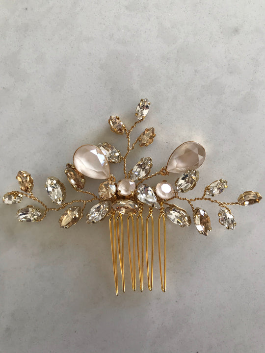 Lorna Hair Comb - Gold