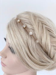 Andrea Hair Band - Gold