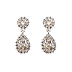 Sofia Earrings - Crystal