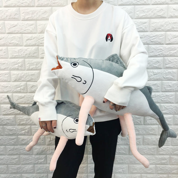 Walking Fish Plushie