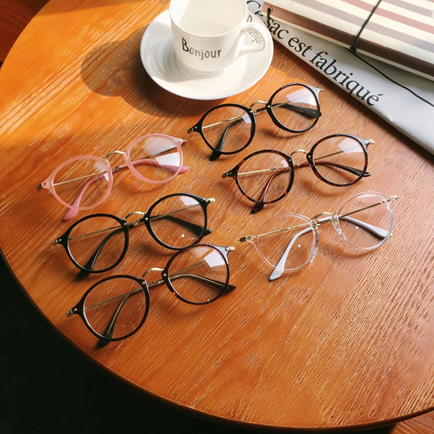 Retro Circle Glasses