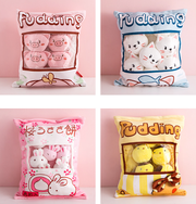 Kawaii Plushie Filled Pillows