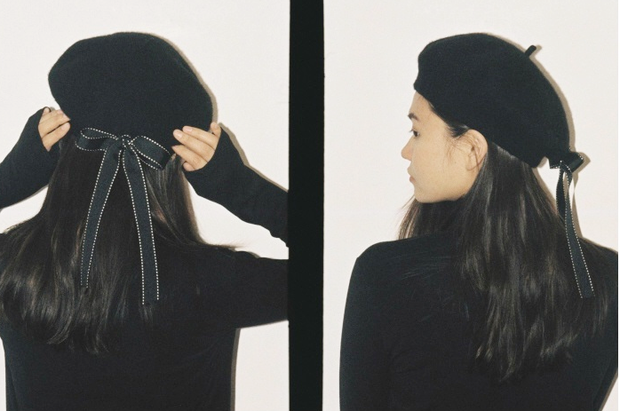 Silk Ribbon Beret