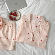 Soft Strawberry Pajamas