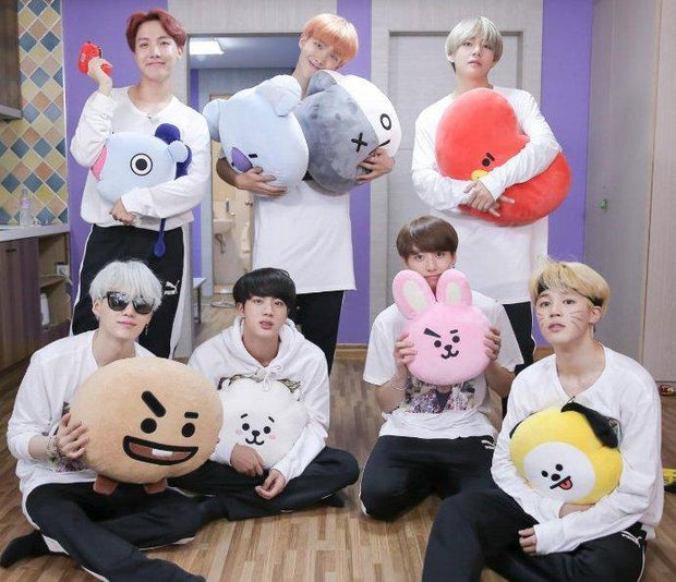 BTS BT21 Plushie Pillows