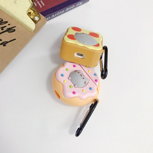 Pusheen On Snacks Airpods Case
