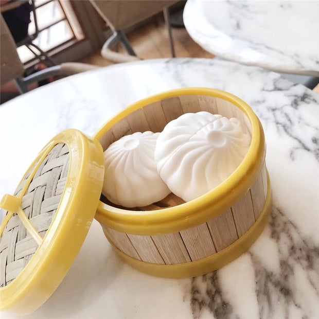 Baozi Steamed Bun Airpods Case