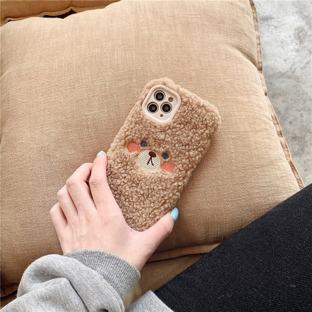 Soft Bear Plush Case