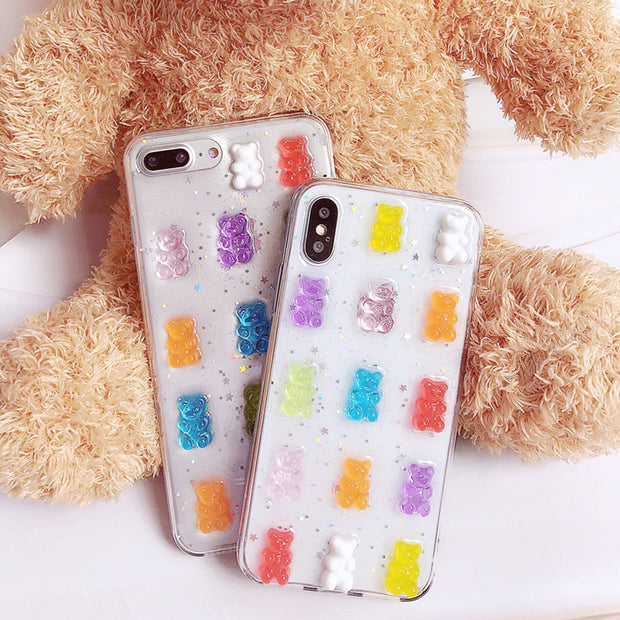 Glitter Gummy Bear Case