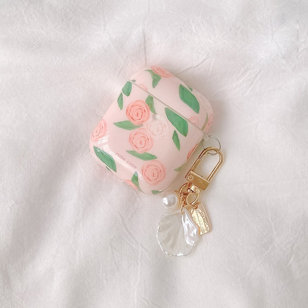 Soft Rose Airpods Case