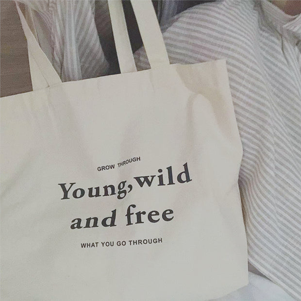 Young Wild Free Bag