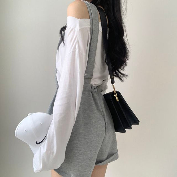 Soft Casual Overalls