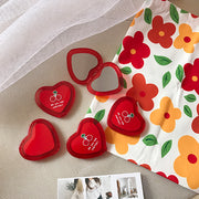 Cherries Heart Mini Mirror