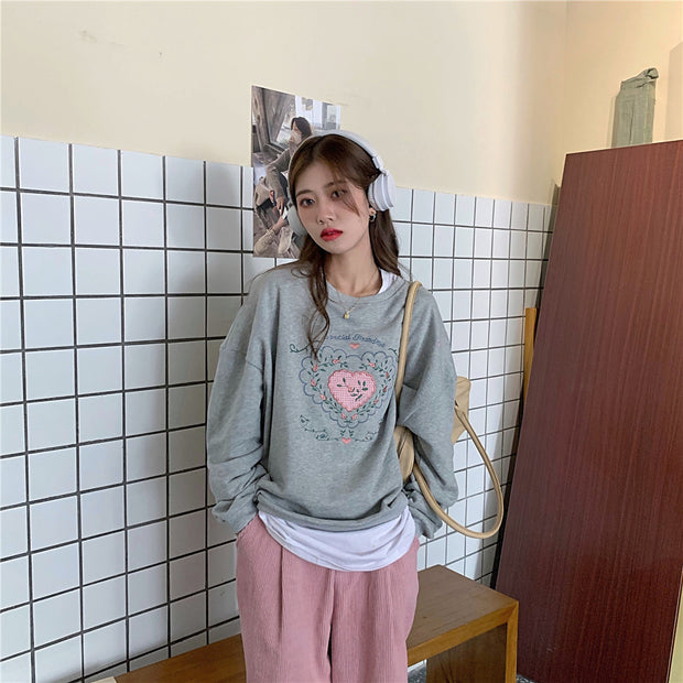Special Grandma Embroidered Pullover