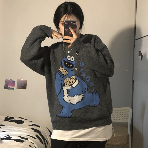 Cookie Monster Pullover