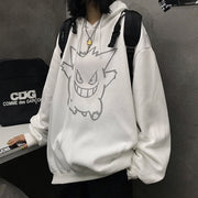 Gengar Glow In The Dark Hoodie