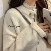 Soft Thick Button Down Cardigan