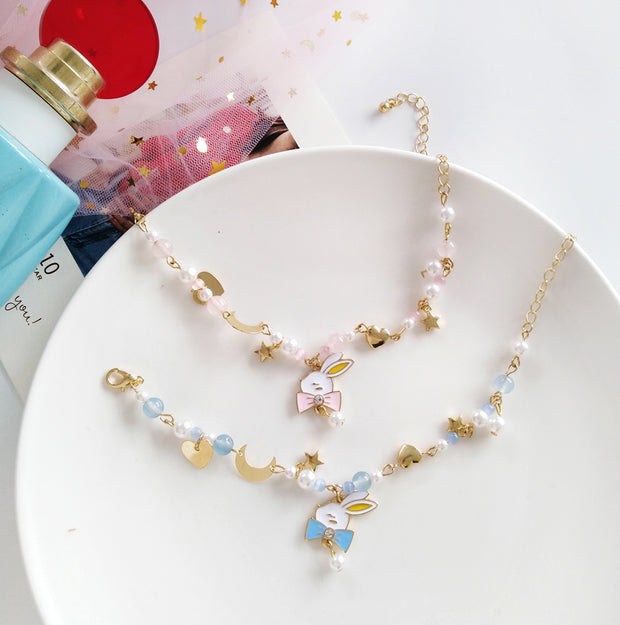White Rabbit Pastel Bracelet