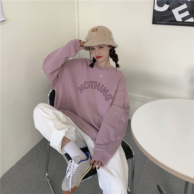 Nothing Embroidered Pullover