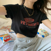 Vetements Cropped Shirt