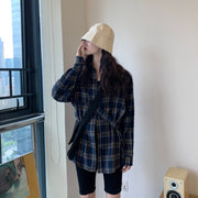 Casual Oversize Flannel Shirt