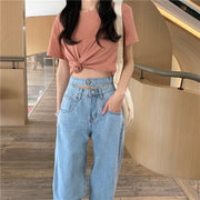 Double Band Highwaisted Jeans