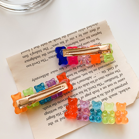 Gummy Bear Hairpins