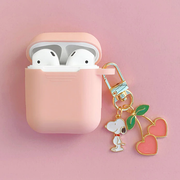 Cherry Snoopy Airpods Case