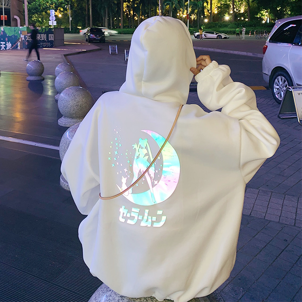 Sailor Moon Glow In The Dark Hoodie