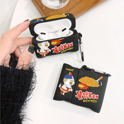 Fire Ramen Airpods Case