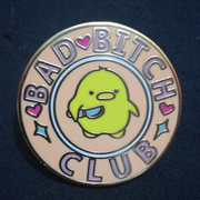 Bad Bitch Club Pin