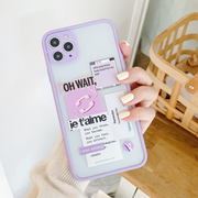 Bullet Journal Sticker Phone Case