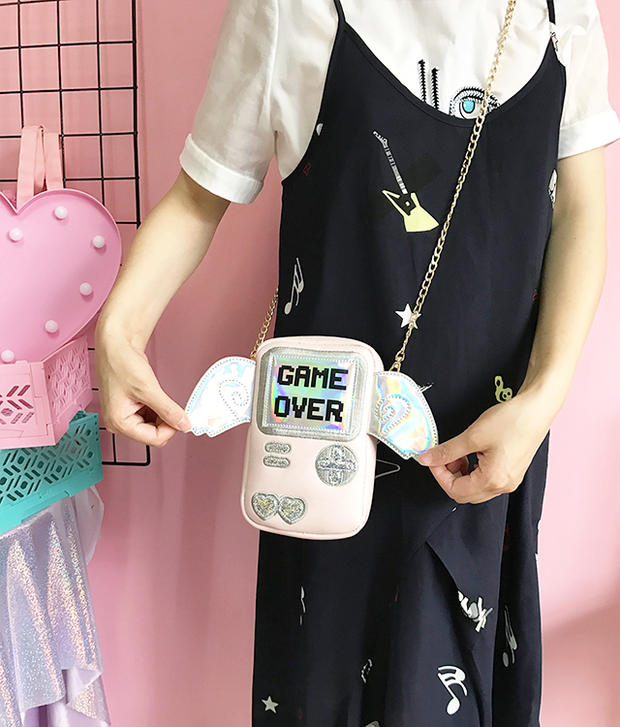 Gameboy Angel Purse