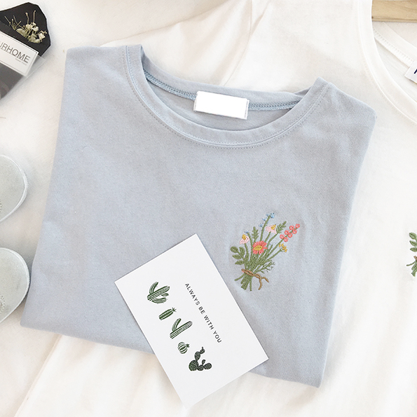 Flower Bouquet Tee