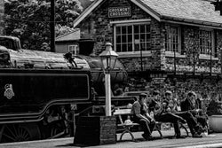 "North Yorkshire - NYMR ""Taking a Break"""