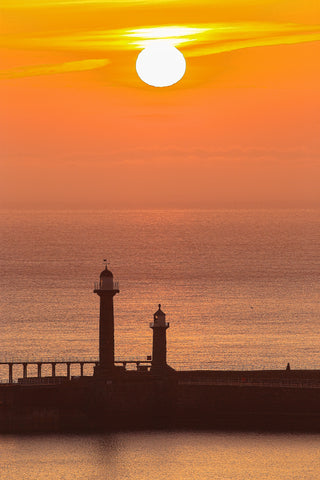 Whitby - Lighthouse Sunrise