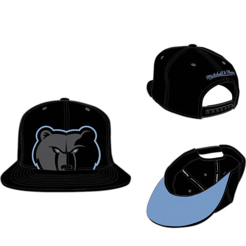 MITCHELL & NESS - MEMPHIS GRIZZLIES CROPPED XL SNAPBACK - BLACK - Ateaze USA