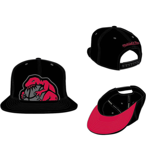 MITCHELL & NESS - TORONTO RAPTORS CROPPED XL SNAPBACK - BLACK - Ateaze USA